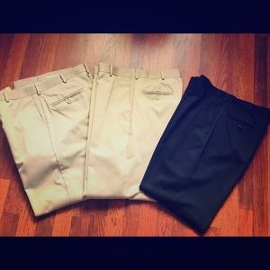 Docker pants all for $3 with any purchase